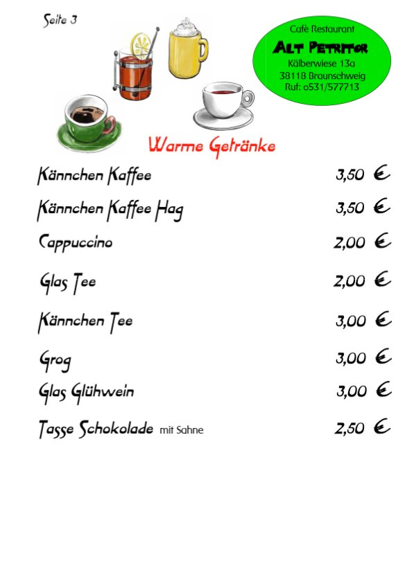 Cafè-Restaurant Alt-Petritor